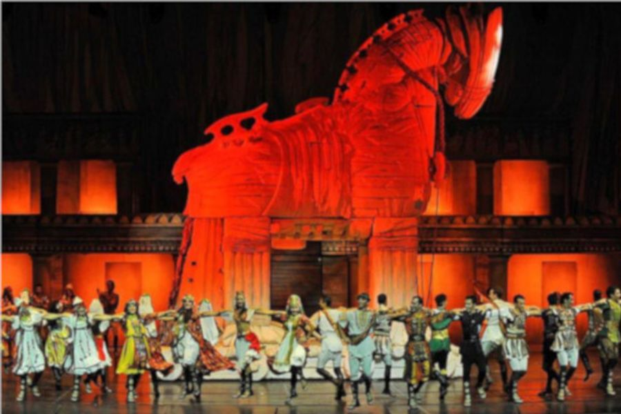 Troya Gösterisi